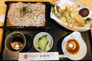 蒸籠ソバと天ぷらのセットランチ
